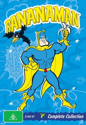 """Bananaman"" - Australian DVD movie cover (thumbnail)"