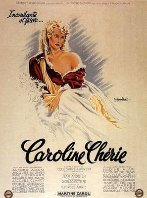 Caroline chèrie - French Movie Poster (thumbnail)
