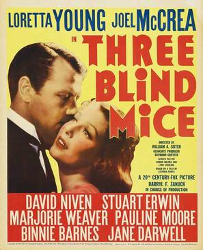 Three Blind Mice - Movie Poster (thumbnail)