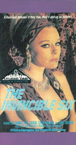 The Invincible Six - Movie Cover (thumbnail)