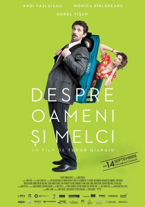 Despre oameni si melci - Romanian Movie Poster (thumbnail)