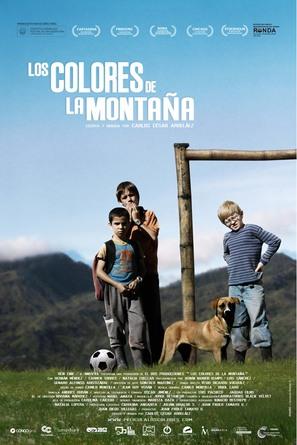 Los colores de la montaña - Colombian Movie Poster (thumbnail)
