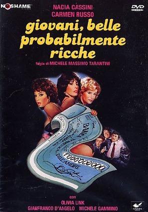 Giovani, belle... probabilmente ricche - Italian DVD movie cover (thumbnail)