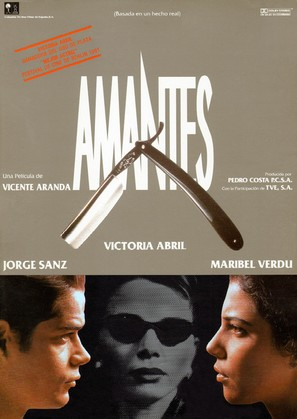 Amantes - Spanish Movie Poster (thumbnail)