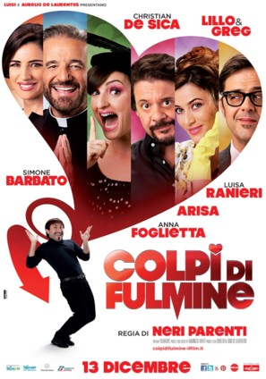 Colpi di fulmine - Italian Movie Poster (thumbnail)