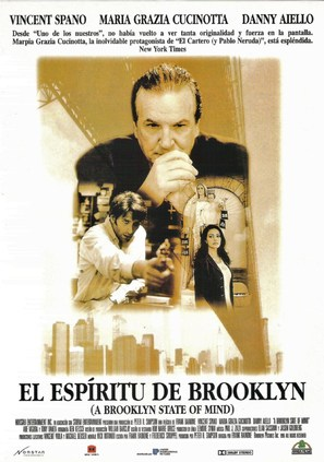 A Brooklyn State of Mind - Spanish Movie Poster (thumbnail)