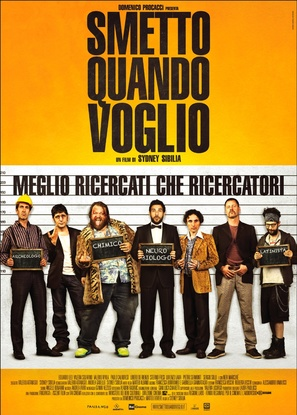 Smetto quando voglio - Italian Movie Poster (thumbnail)