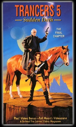 Trancers 5: Sudden Deth - VHS cover (thumbnail)