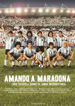 Amando a Maradona - Spanish poster (thumbnail)