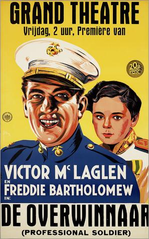 Professional Soldier - Dutch Movie Poster (thumbnail)