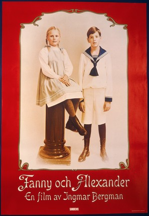 Fanny och Alexander - Swedish Movie Poster (thumbnail)