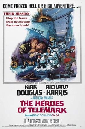 The Heroes of Telemark - Movie Poster (thumbnail)