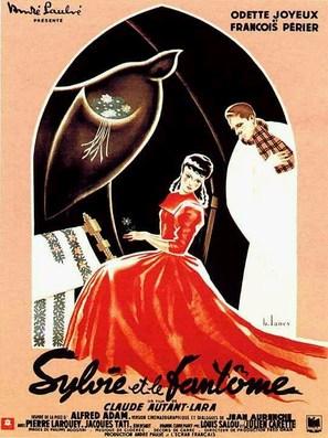 Sylvie et le fantôme - French Movie Poster (thumbnail)
