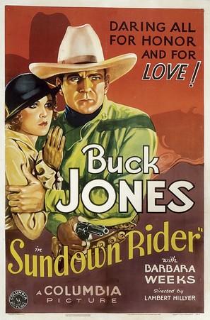 Sundown Rider - Movie Poster (thumbnail)