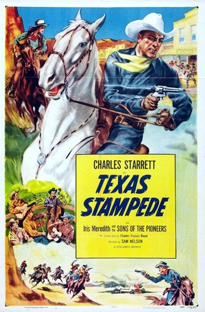 Texas Stampede - Movie Poster (thumbnail)