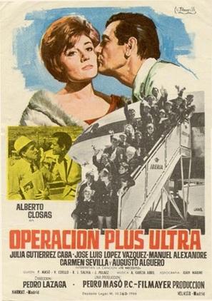 Operación Plus Ultra - Spanish Movie Poster (thumbnail)