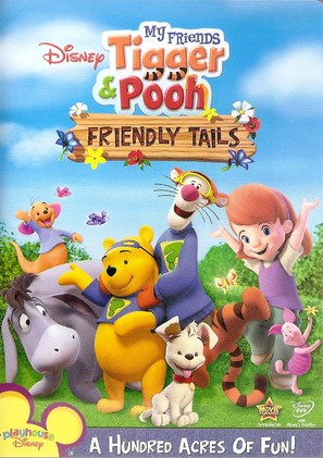 My Friends Tigger & Pooh's Friendly Tails - Movie Cover (thumbnail)