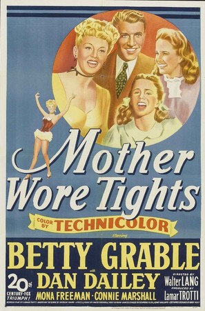 Mother Wore Tights - Movie Poster (thumbnail)