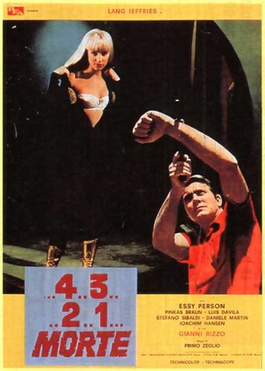 ...4 ...3 ...2 ...1 ...morte - Italian Movie Poster (thumbnail)