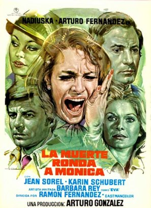 Muerte ronda a Mónica, La - Spanish Movie Poster (thumbnail)