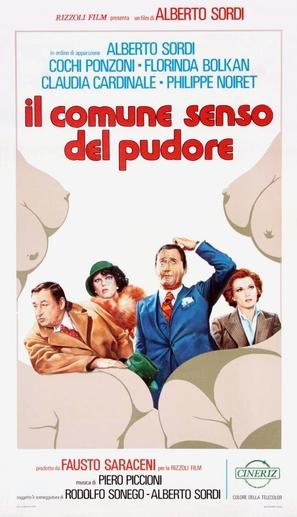 Il comune senso del pudore - Italian Theatrical movie poster (thumbnail)