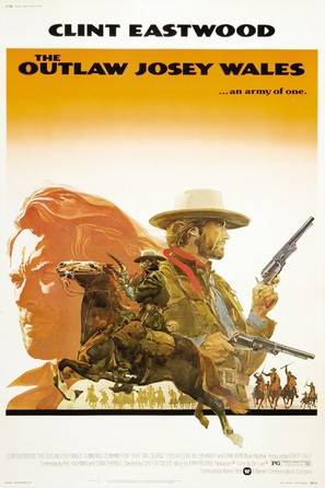 The Outlaw Josey Wales - Movie Poster (thumbnail)
