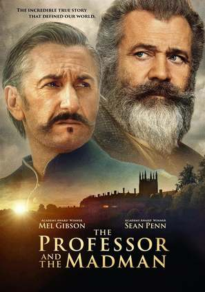 The Professor and the Madman - Irish Movie Cover (thumbnail)