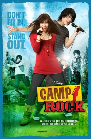 Camp Rock - Movie Poster (thumbnail)
