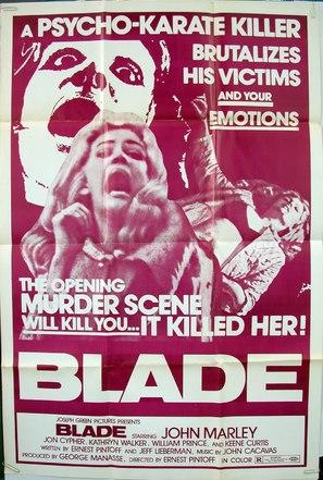 Blade - Movie Poster (thumbnail)