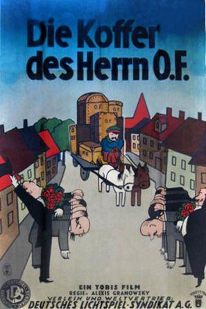 Die Koffer des Herrn O.F. - German Movie Poster (thumbnail)