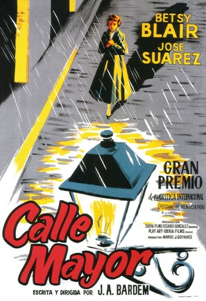 Calle Mayor - Spanish Movie Poster (thumbnail)