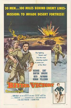 Bitter Victory - Movie Poster (thumbnail)