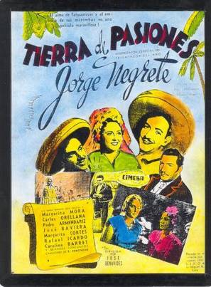 Tierra de pasiones - Mexican Movie Poster (thumbnail)