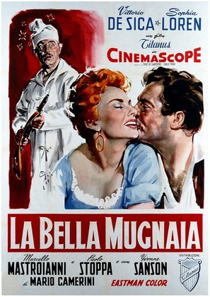 La bella mugnaia - Italian Movie Poster (thumbnail)