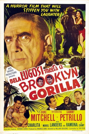 Bela Lugosi Meets a Brooklyn Gorilla - Movie Poster (thumbnail)