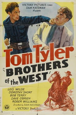 Brothers of the West - Movie Poster (thumbnail)