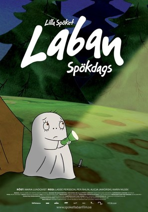 Lilla spöket Laban: Spökdags - Swedish Movie Poster (thumbnail)