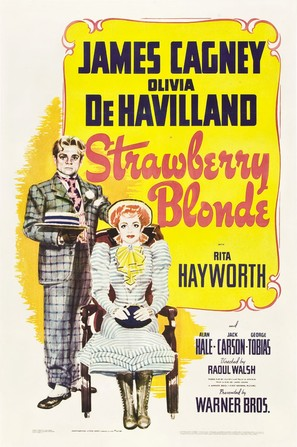 The Strawberry Blonde - Theatrical movie poster (thumbnail)