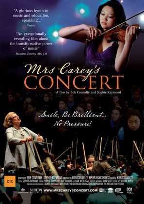 Mrs. Carey's Concert - Australian Movie Poster (thumbnail)