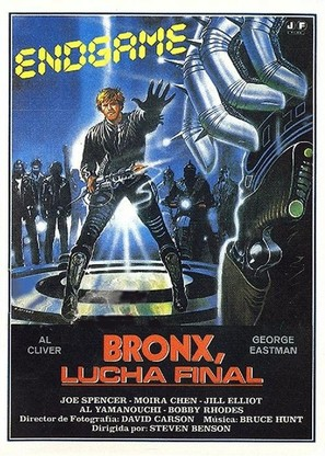 Endgame - Bronx lotta finale - Spanish Movie Poster (thumbnail)