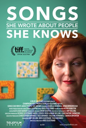 Songs She Wrote About People She Knows - Canadian Movie Poster (thumbnail)