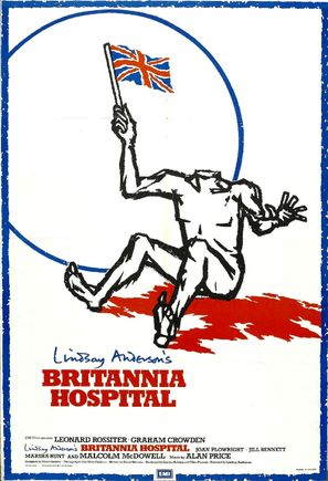 Britannia Hospital - British Movie Poster (thumbnail)