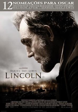 Lincoln - Portuguese Movie Poster (thumbnail)