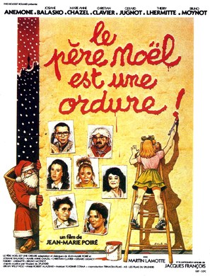 Le père Noël est une ordure - French Movie Poster (thumbnail)