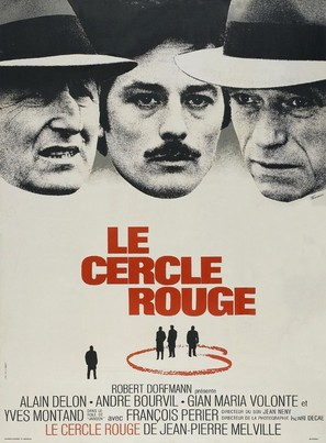 Le cercle rouge - French Movie Poster (thumbnail)