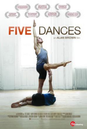 Five Dances - Movie Poster (thumbnail)