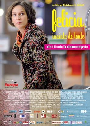 Felicia inainte de toate - Romanian Movie Poster (thumbnail)
