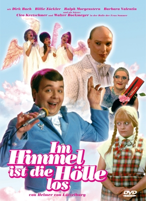 Im Himmel ist die Hölle los - German DVD movie cover (thumbnail)
