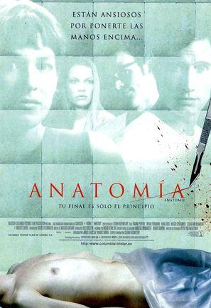 Anatomie - Spanish Movie Poster (thumbnail)