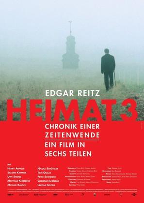 """""""Heimat 3 - Chronik einer Zeitenwende"""" - German poster (thumbnail)"""